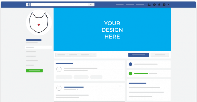 Facebook Cover Photo Dimensions Mockup